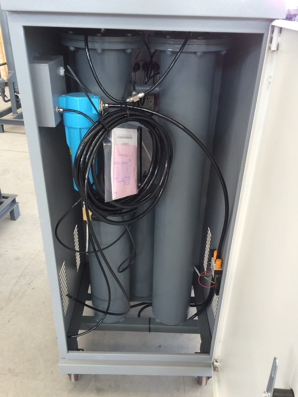 Box Type Removable Small Nitrogen Generator 0.1-0.65 Mpa For Tyre Gas Charging