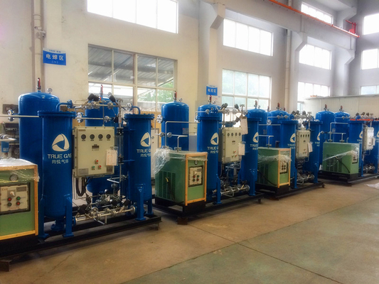 Auto Parts Automated Nitrogen Making Machine 0.8 Mpa 95%-99.99% Purity