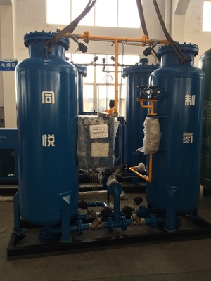 60Nm3/H  Purity 99.9% Nitrogen Making Machine / Nitrogen Generation Process N2 Gas Generator