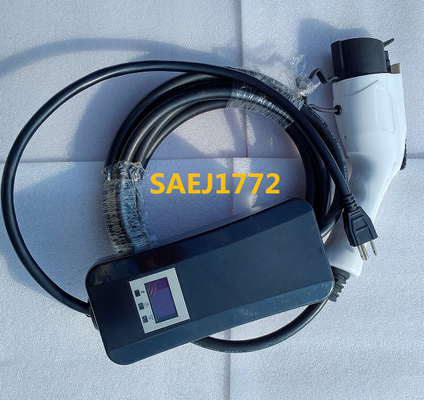 চীন Type 1  SAEJ1772 charging plug Mode 240v ev charger 2 , level 2 কারখানা